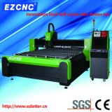 Laser aprobado de la fibra del corte del acero inoxidable del CNC de la transmisión del Ball-Screw del Ce de Ezletter (GL2040)