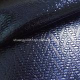 Het Leer van de Oppervlakte Pu van het Metaal van de ruit voor Schoenen