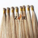 Duas cores de tom duplo desenhada Cabelos Europeia I Dica de cabelo humano ramal