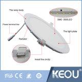 Saso IEC 18W 8inch는 위원회 LED 가벼운 PF0.9를 체중을 줄인다