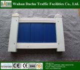 Ingeniería cubierta polvo y cerca privada del PVC