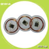RFID PVC Lf Em4100 Em4102 Em4200 Disque Tag, RFID Hf Nfc S50 S70 Ultralight Ntag203 Topaz Disk Coin Sticker Tag