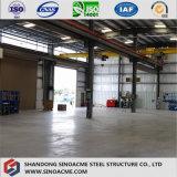Stahlkonstruktion-Gebäude für Werkstatt mit Lager