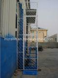 Vertical hidráulico de elevación de los bienes materiales para el levantamiento