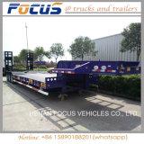 De gloednieuwe Semi Aanhangwagen van de Carrier van het Graafwerktuig van de Aanhangwagen van Lowbed van 3 Assen voor Verkoop