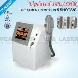 Salon de beauté IPL SHR Enlèvement de cheveux de machines de soins de la peau (VSHR16)