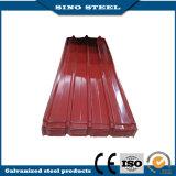 840 tipo folhas de aço Prepainted corrugadas da telhadura