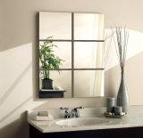 Specchio moderno della stanza da bagno con la mensola e l'indicatore luminoso di vetro (JINBO)