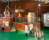 Alambic Charantais distillateur de distillation simple