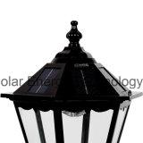 Lumière solaire fiable et rentable de poste de lampe de DEL