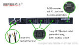 Interruptor de estática de transferência de Ouxiper 220VAC 25AMP 5.5kw 3-Circuit
