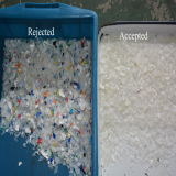 La machine de réutilisation en plastique de Vsee RVB a écrasé la trieuse en plastique de couleur d'éclailles