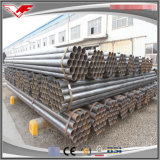 ASTM A53 Black Painted ERW section creuse Tubes en acier au carbone