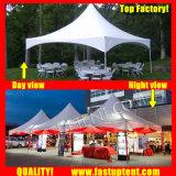 Tenda popolare 4X4m del Gazebo dell'alto picco 4m x 4m 4 da 4 4X4 4m