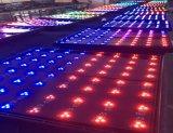 DMX LED 디스코 당 차 전시 상점가를 위한 아이랜드 댄스 플로워 매트 램프