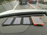 8000mAh太陽移動式力バンクのコンピュータの電源4部分の太陽電池パネル