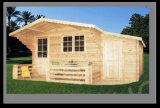 Maison en bois extérieure