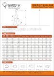 Scalette saldate dell'alluminio delle scalette di garanzia di qualità