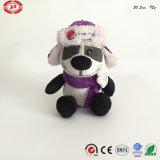 Panda van de Reclame van de Partij van de drank draagt de Zachte Pluche Gevulde het Stuk speelgoed van de Gift