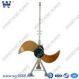 Mixer Met duikvermogen Met lage snelheid van de Propeller van de Stroom van de Reeks van Qdt de Horizontale