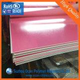 Hoja claro anti-reflectante de plástico de PVC, un buen rendimiento anti-estático rígido transparente Hoja delgada anti-reflectante PVC