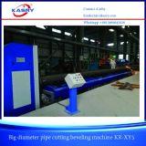 De Scherpe Machine van de Schuine rand van de Pijp van het Roestvrij staal van de grote Diameter met de Snijder van de Vlam van het Plasma voor Industrie van de Pijpleiding Kr-Xym5