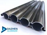 Walzen-Blendenverschluss-Aluminiumstrangpresßling verdrängte Profil/verschiedene Farbe