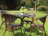 작은 술집 의자 고정되는 정원 가구 (WF050057)를 식사하는 Starbucks 대중음식점