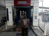 Máquina automática de la colada de coche del túnel del gran funcionamiento corriente