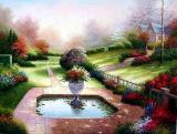 Huile sur toile paysage - 03