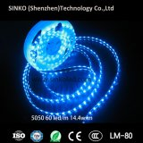 Luzes de tira flexíveis do diodo emissor de luz do RGB da tira do diodo emissor de luz do RGB IP68 5m/Roll da tira 5050 do diodo emissor de luz do preço de fábrica