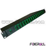 """Carregamento completo 19"""" montada em rack divisor PLC em Fibra Óptica"""
