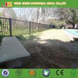 O pó revestiu os painéis pretos da cerca/Guardrail da guarnição feitos em China