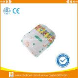 Trockene Oberflächenabsorptions-bunte gedruckte Baby-Windeln