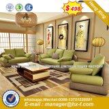 Itália Design de mobiliário clássico em madeira Office sofá de couro (HX-SN8033)