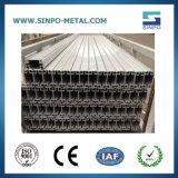 Perfil de alumínio anodizado do elemento da parede para a barraca