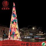 Het aangepaste Grote 3m/6m/10m LEIDENE van de Slinger 3D Licht van de Kerstboom voor Winkelcomplex