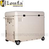 8 КВА кнопку Пуск Питание портативных устройств автоматической дизельный генератор с цены