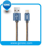 Durable y plegable Jean USB cable de datos