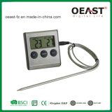 1 탐침 C/F 스위치 및 시간 Ot5212b를 가진 디지털 BBQ 온도계