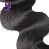 Уток волнистых волос тела Remy Unprocessed естественного цвета бразильский