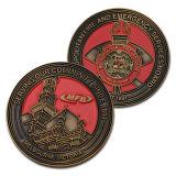 Replica della moneta incisa lati su ordine all'ingrosso dell'oggetto d'antiquariato di modo doppi