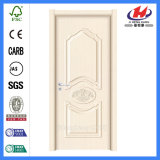 Pino claro solo Prehung 24 puertas de la melamina de madera sólida de la pulgada