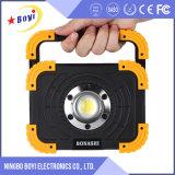 indicatore luminoso portatile esterno dell'interno LED del lavoro 6000K ricaricabile
