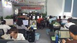 인도에 있는 초점 A3 크기 DTG 직물 탁상용 프린터