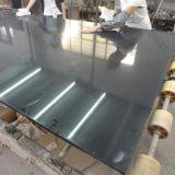 laje preta da pedra de quartzo de 20mm Sparklig para a parte superior da cozinha (KKR-Q1711062)