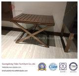 Insieme conciso della mobilia della camera da letto dell'hotel di stile con rivestimento della noce (YB-813)