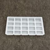 OEM de plástico descartáveis dividido Bandeja para Acondicionamento Eletrônico