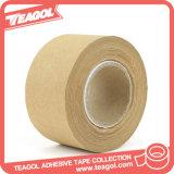 Activação de água adesivo marrom de cola da fita de papel Kraft para embalagem