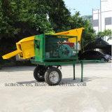 Folhas de cana-móvel da máquina de decapagem / Descascador de folhas de cana